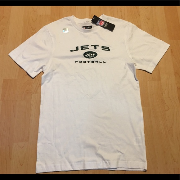 c428854fc Men s NFL Ny Jets Embroidered T-shirt Size Small